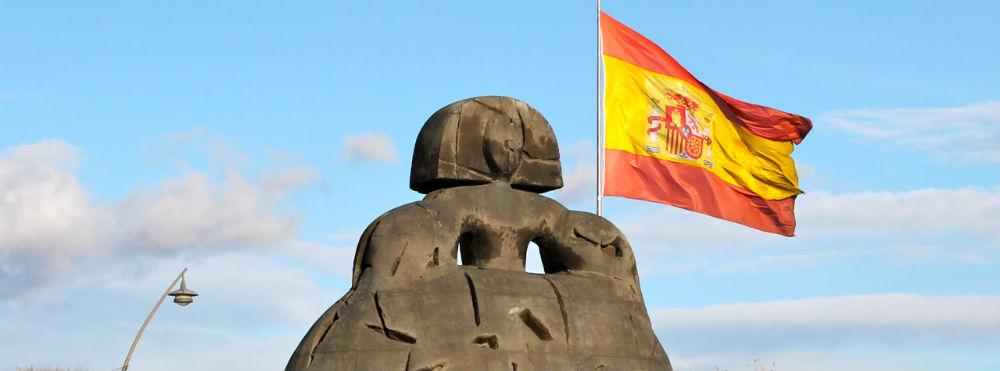 Alcobendas-Menina-España-Bandera