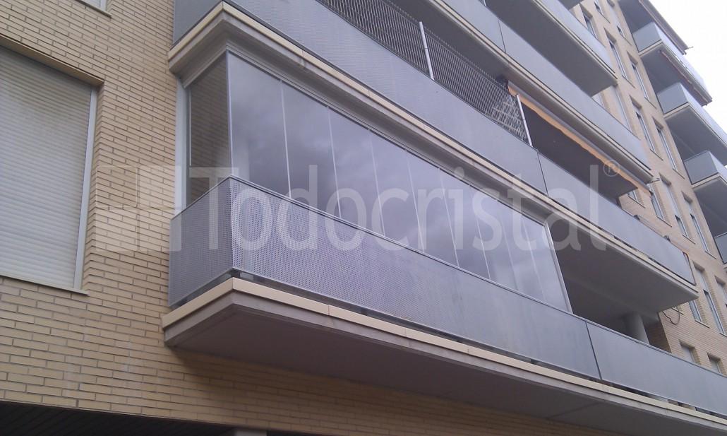 cortina de cristal para terraza cobeña