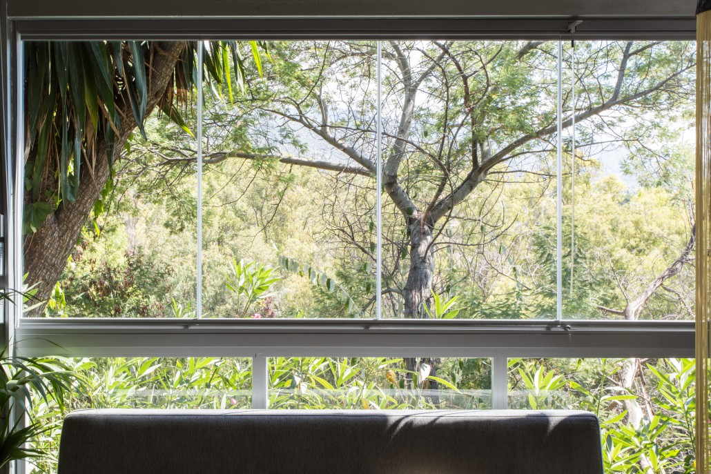 cortina de cristal sanse