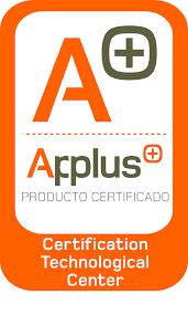 certificado applus cortina de cristal Allglass