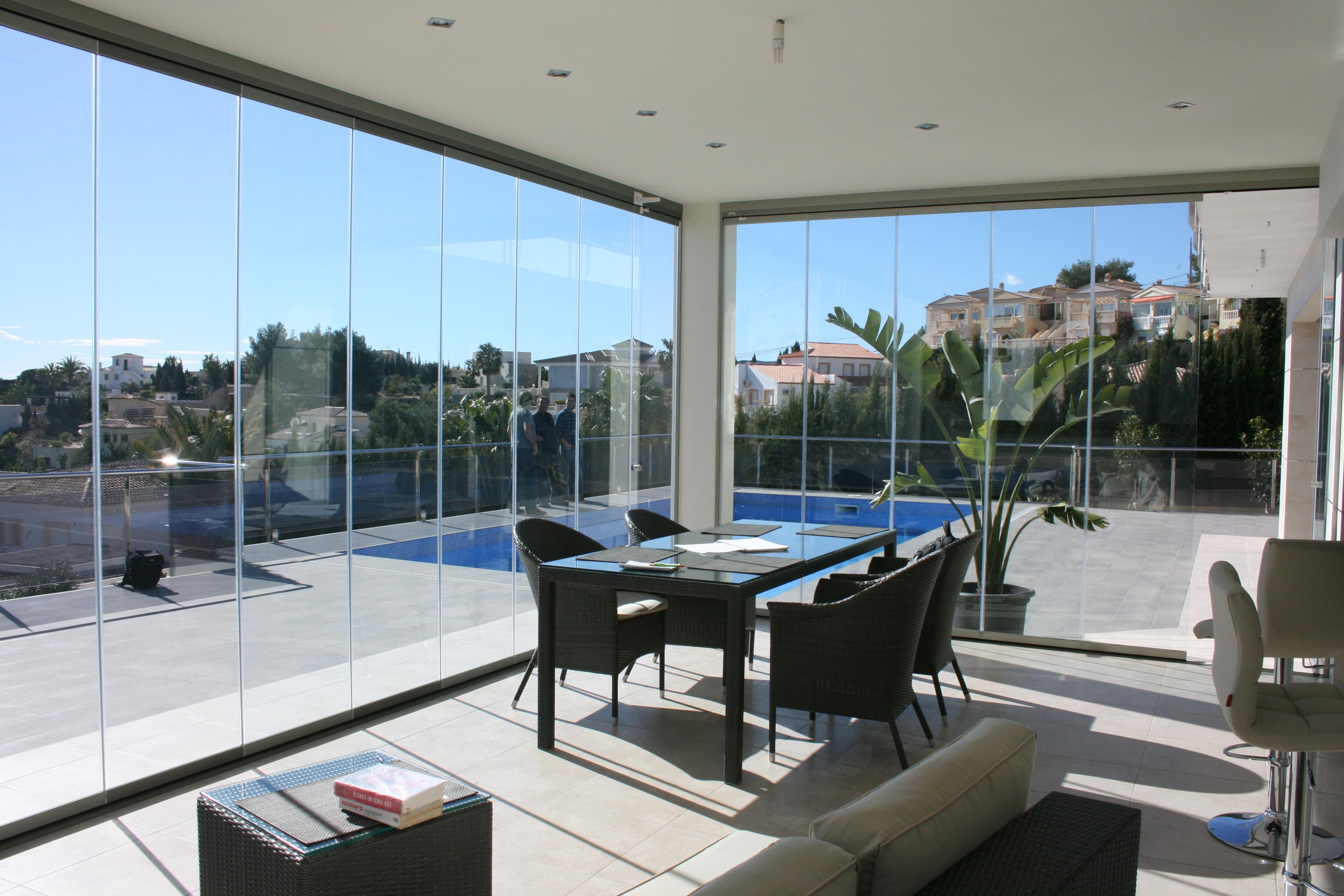 Terraza cristal cheap terraza cristal with terraza for Cerramiento terraza cristal precio
